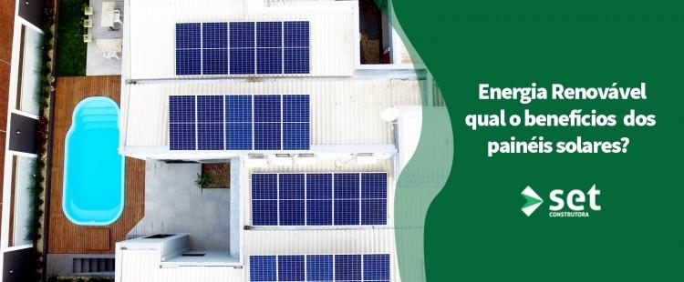 A fonte de energia renovável limpa, através do uso de Painéis Solares vem crescendo no Brasil!